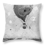 Germany: Military Drill Throw Pillow