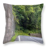 Germany Roads Throw Pillow