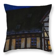 Germany Ulm Fischer Viertel Moonroofs Throw Pillow