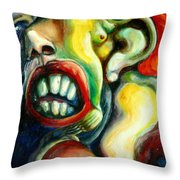 Germination Throw Pillow