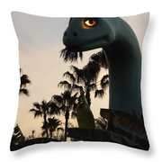 Gertie In The Trees Throw Pillow