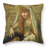 Gertrud Eysoldt As Salome Throw Pillow