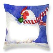 Gertrude's Scarf Throw Pillow