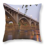 Gervais Bridge Throw Pillow