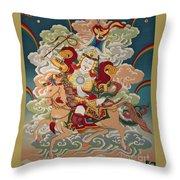 Gesar Gyalpo Throw Pillow