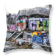 Get A Clue Throw Pillow