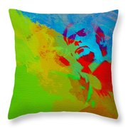 Get Carter Throw Pillow by Naxart Studio