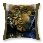 Get In Th Boat Throw Pillow