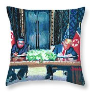 Get It In Writing Throw Pillow