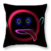 Get Licked Throw Pillow