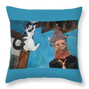 Get Me Out Of Here Throw Pillow
