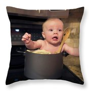 Get Me Outta Here Throw Pillow