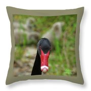 Get Out Throw Pillow