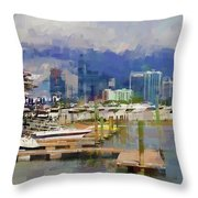 Get The Boat Throw Pillow