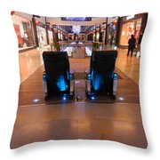 Get The Massage Throw Pillow