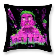 Getter Throw Pillow