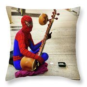 Gettin' By In Key West Throw Pillow