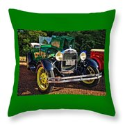 Gettin' Ready To Cruise Throw Pillow