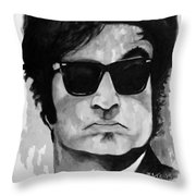 Gettin' The Band Back Together Throw Pillow