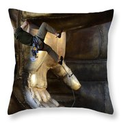 Getting A Hand Up Throw Pillow