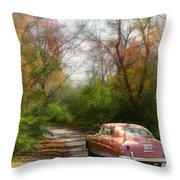 Getting Away Throw Pillow