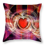 Getting Back Together Throw Pillow