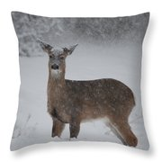 Getting Deeper Throw Pillow