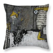 Getting Sounds  Throw Pillow