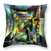 Getting The Shaft Throw Pillow