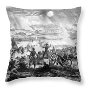 Gettysburg Battle Scene Throw Pillow by War Is Hell Store