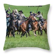 Gettysburg Cavalry Battle 7948c  Throw Pillow