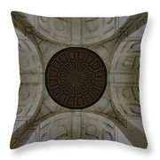 Gettysburg Ceiling Of Building Throw Pillow