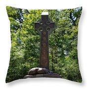 Gettysburg Irish Brigade Monument Throw Pillow