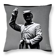Gettysburg National Battlefield Park Throw Pillow