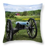 Gettysburg National Military Park Throw Pillow