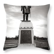 Gettysburg National Park 13th Vermont Infantry Monument Throw Pillow