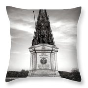 Gettysburg National Park 42nd New York Infantry Monument Throw Pillow