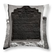 Gettysburg National Park Army Of The Potomac First Corps Monument Throw Pillow