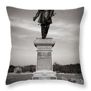Gettysburg National Park John Gibbon Monument Throw Pillow