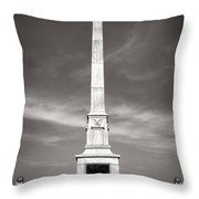 Gettysburg National Park United States Army Regulars Monument Throw Pillow