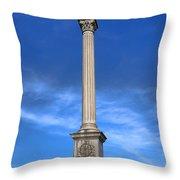 Gettysburg National Park Vermont Stannard Brigade Memorial Throw Pillow