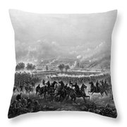 Gettysburg Throw Pillow by War Is Hell Store