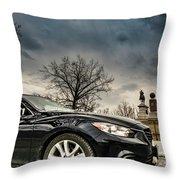 Gettysburg Zoom Zoom Throw Pillow
