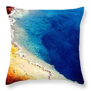 Geyser Basin Throw Pillow