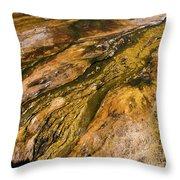 Geyser Basin Springs 2 Throw Pillow