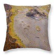 Geyser Basin Springs 4 Throw Pillow