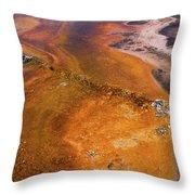 Geyser Basin Springs 6 Throw Pillow