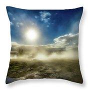 Geysir Throw Pillow