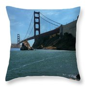 Gg Horseshoe Bay Throw Pillow
