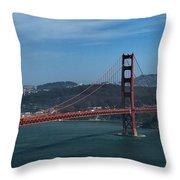 Gg San Francisco Throw Pillow